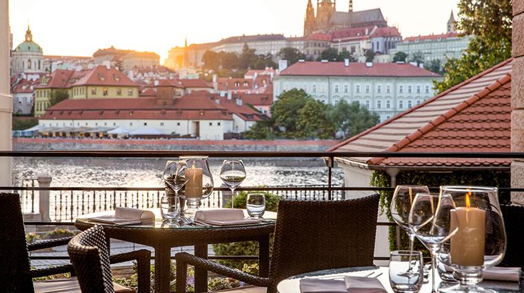 Terrace Four Seasons Prague