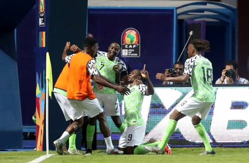 2019 636980396440905575 90 - Nigeria Survives Cameroon Scare To Progress To Quarter Final