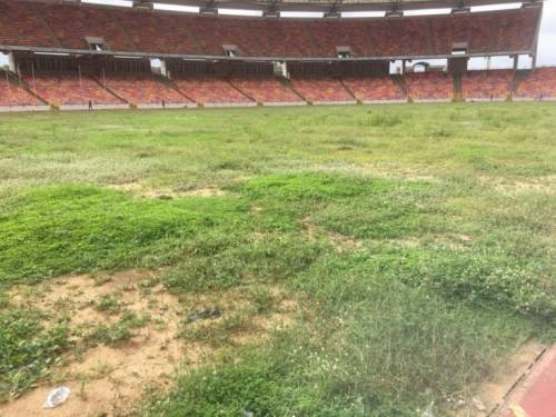 Moshood Abiola National Stadium 18 1024x768 768x576 - Shame Of June 12 Democracy Day: Grass Takes Over $360m MKO Abiola Stadium