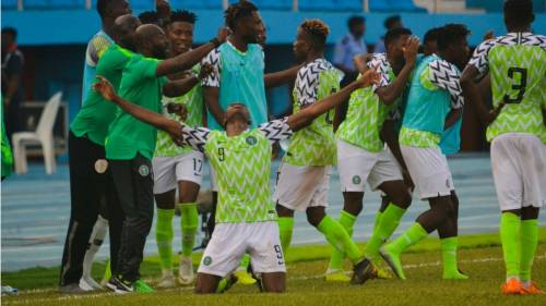 Nigeria%20U23 - Nigeria Defeats Sudan To Qualify For U23 AFCON