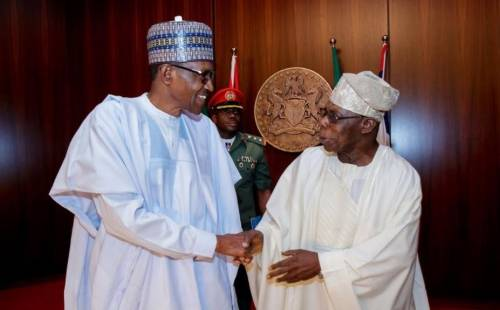 Image result for Buhari: Despite differences, I still respect Obasanjo