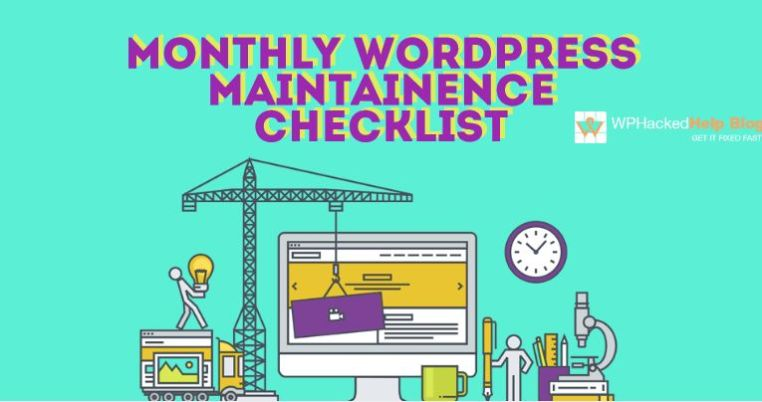 Monthly WordPress Maintenance Checklist