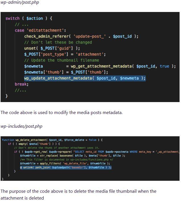 WordPress Arbitrary File Deletion Vulnerability Patch 4_9_7