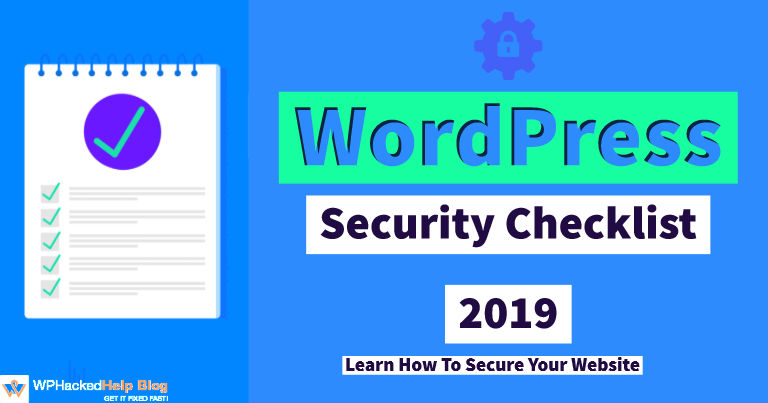 WordPress Security Checklist 2020 – A Step by Step Guide