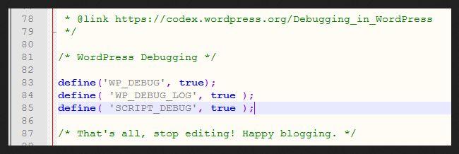 wordpress_debug_options_wp-config