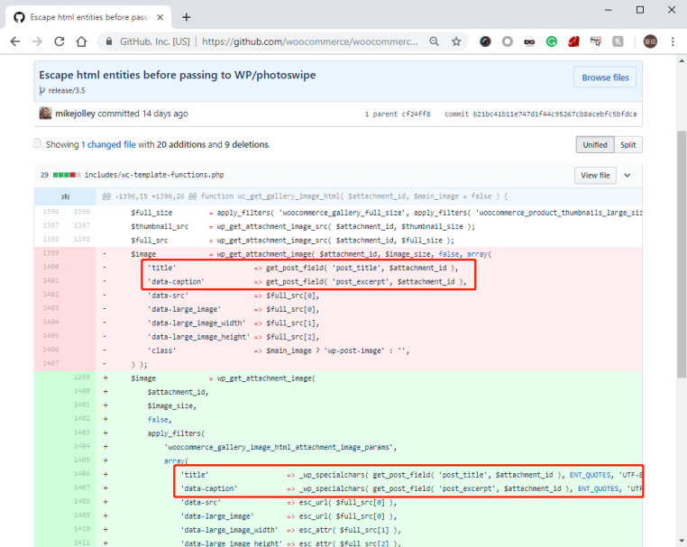 WordPress WooCommerce XSS Vulnerability – Hijacking a Customer Account with a Crafted Image