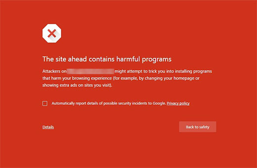 How-To-Remove-The site ahead contains malware