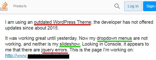 Wordpress-5.5-Jquery-Issues