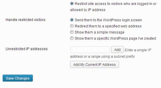 restrict-site-access-ip-address-wordpress
