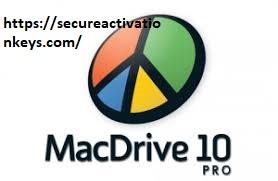 MacDrive Pro 10.5.4.9 Crack