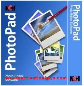 NCH PhotoPad Image Editor Pro Crack 7.11+ Serial Key Full Version