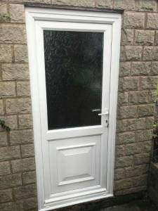 UPVC Door Installed