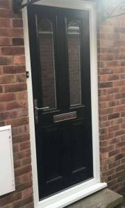 Composite Door Installed In Mansfield