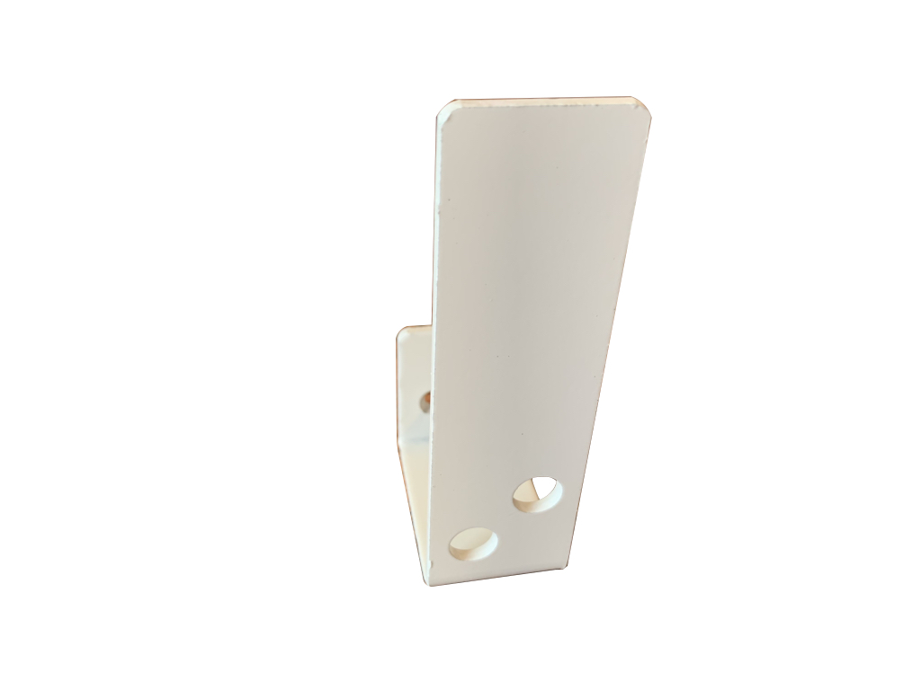 compact white 2x4 bar holder for security