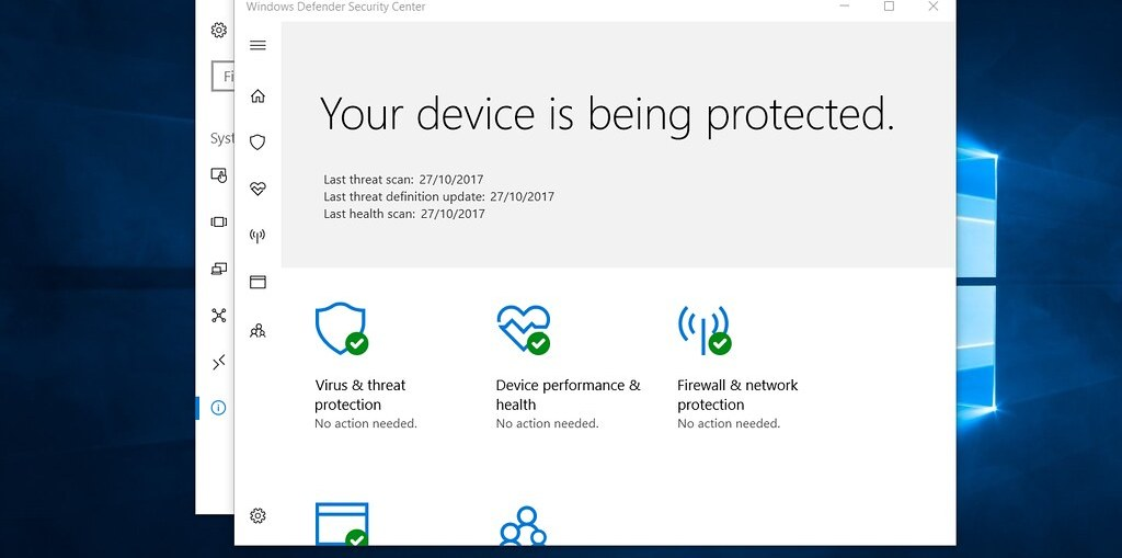 windows defender good enough