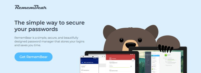 remembear password manager