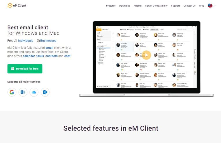 Full Review of eM Client 8 email application