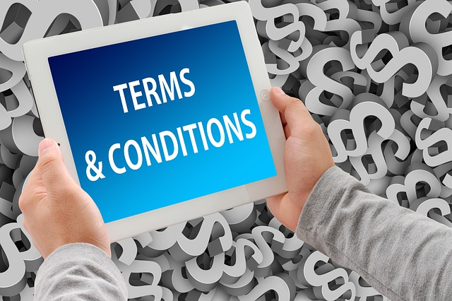 Check the Terms and Condition of the Website
