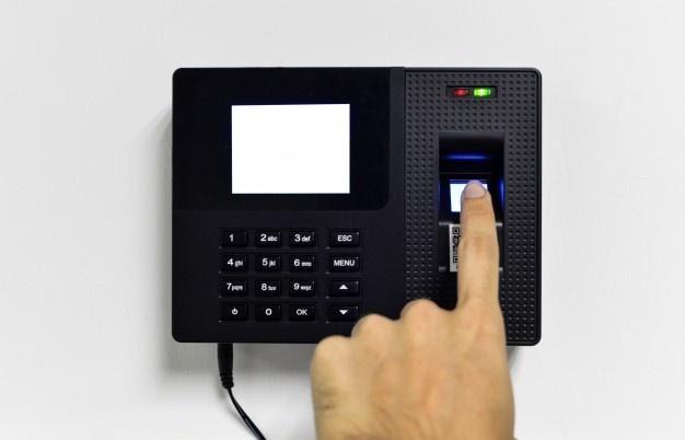 biometric fingerprint scanner system