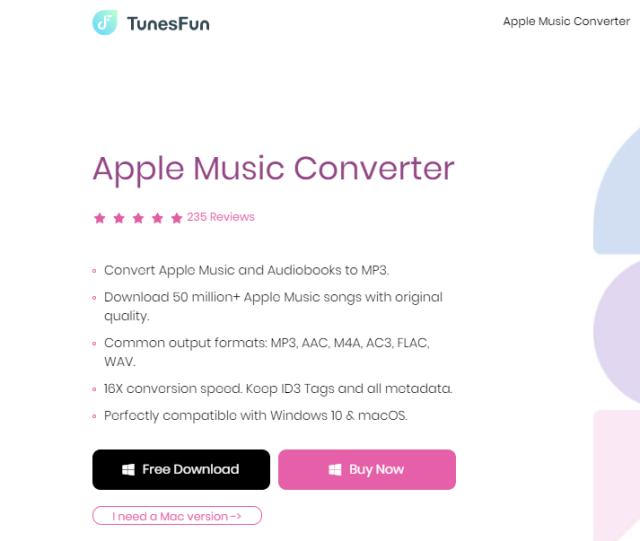 Convert m4P to mP3 files using TunesFun Apple Music Converter