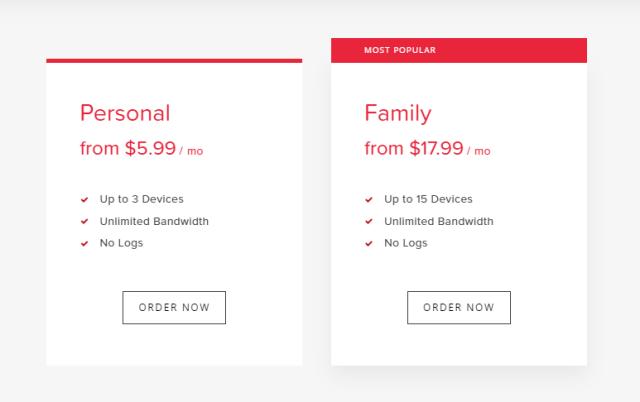 Virtual Shield VPN Pricing