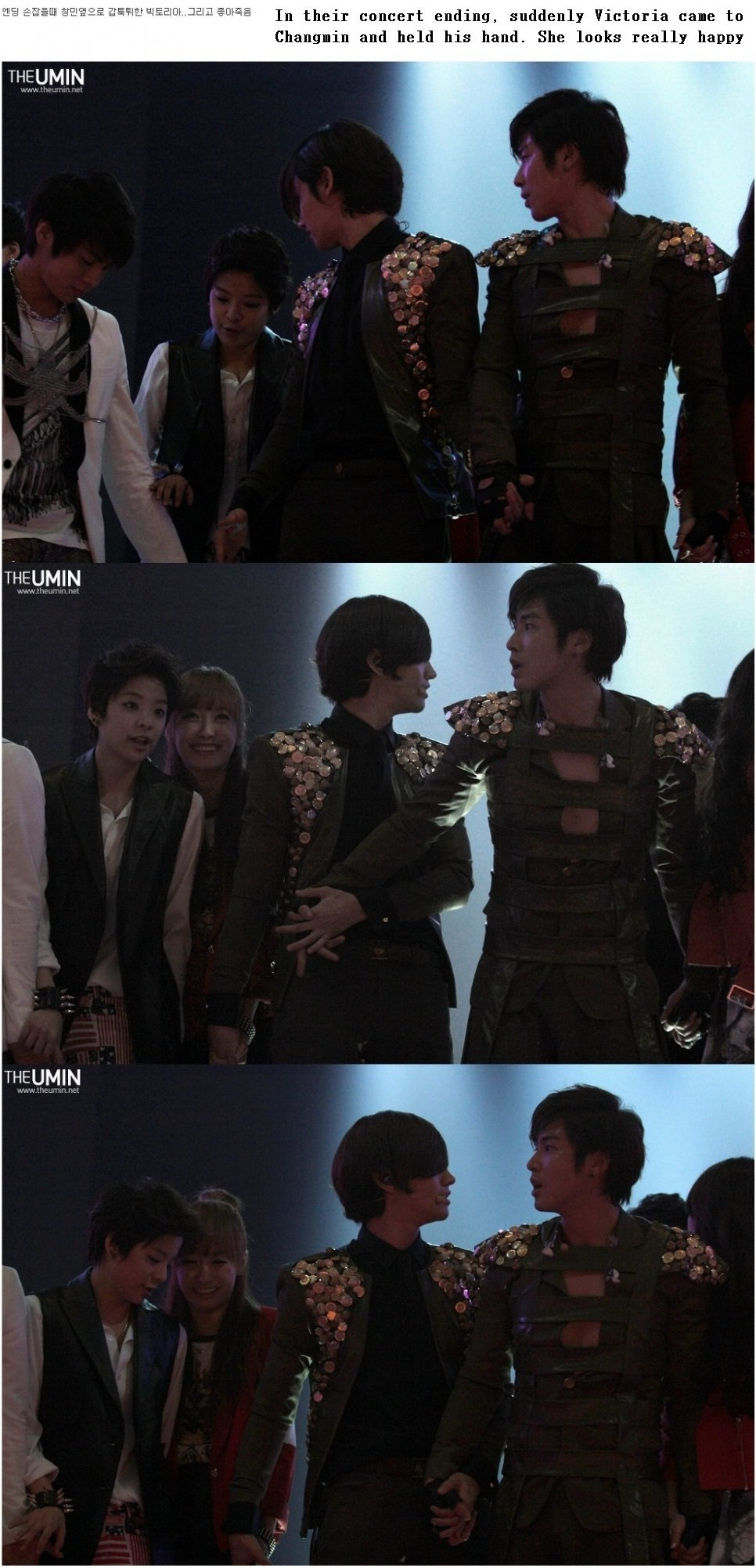 Changmin and victoria dating allkpop