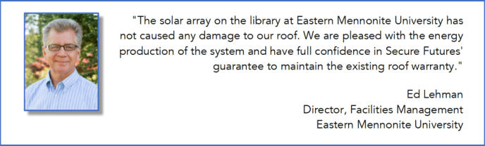 Knowledgeable solar developers understand the importance of maintaining the integrity of a roof when installing a solar array.