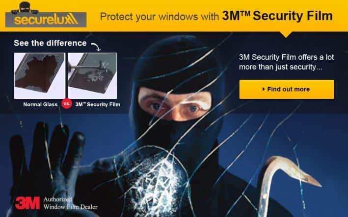 3M Security Film in Brisbane