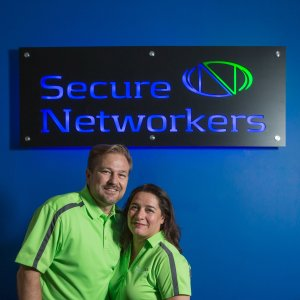 Secure Networkers CEO and CTO Kerri and Todd Ellis