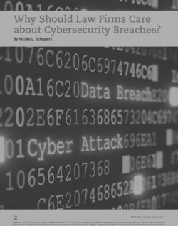 Why Should Law Firms Care about Cybersecurity Breaches?