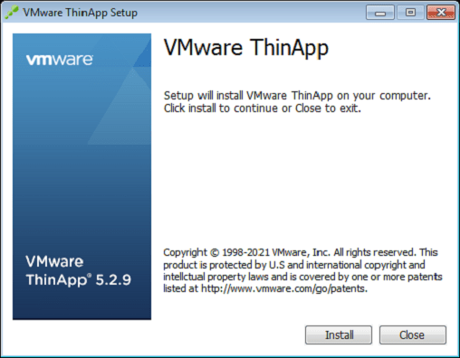 ThinApp Software for App Delivery