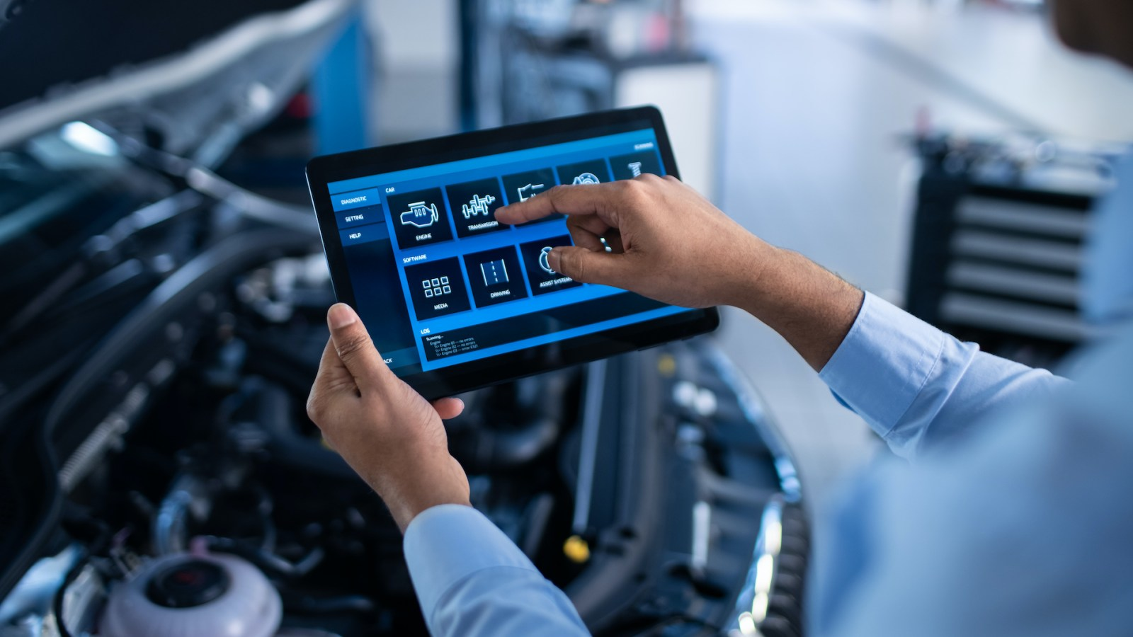 Auto Repair Tablet Computer