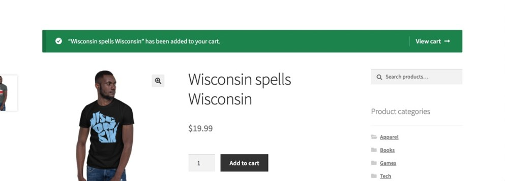 Improve WooCommerce checkout with visual cues after adding to cart.