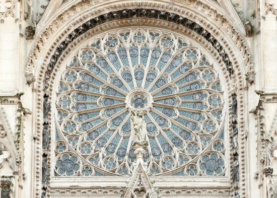 Rose window, Rouen Cathedral