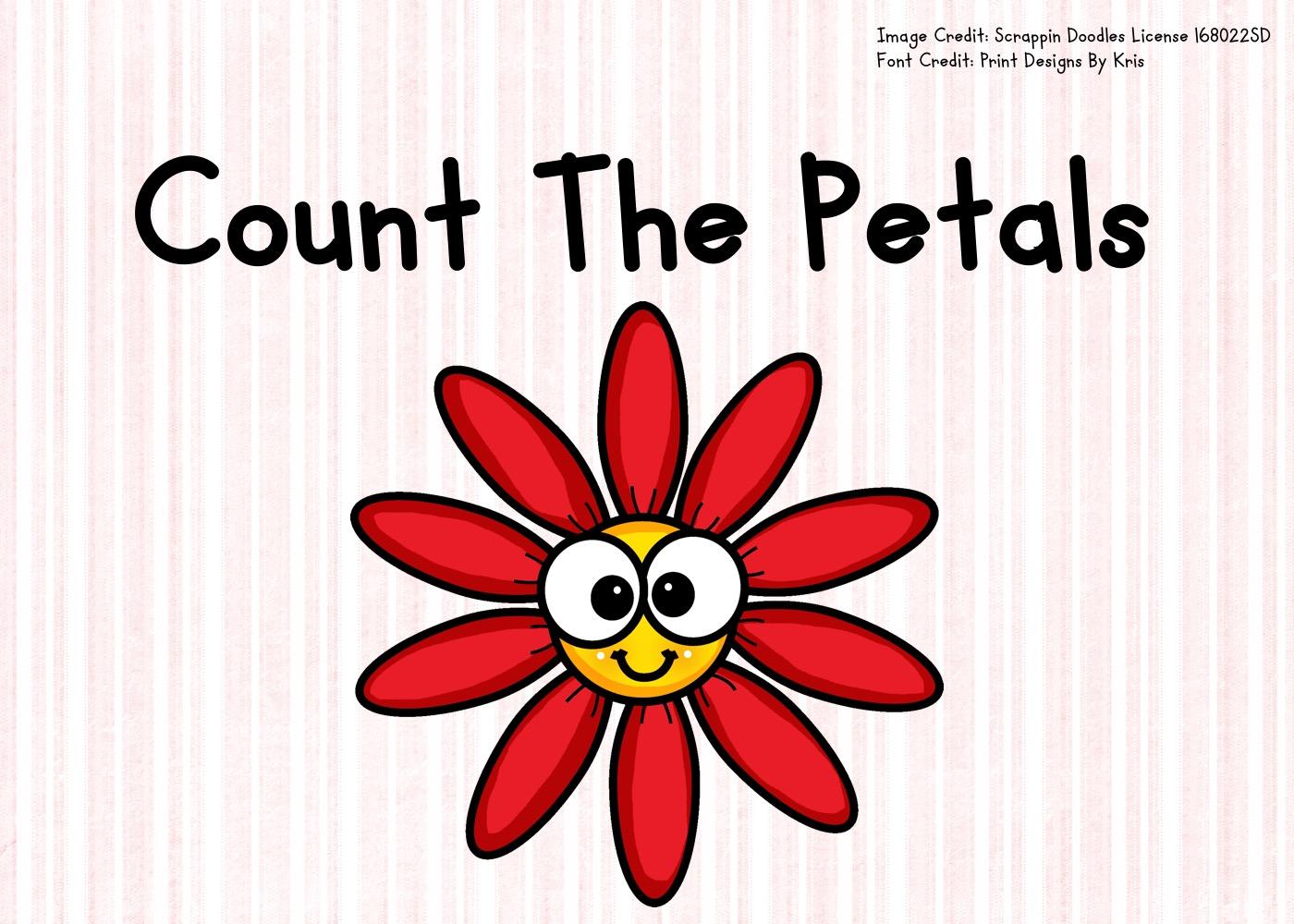 Count The Petals 1 10