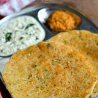 Red Rice Cabbage Adai | Cabbage Adai