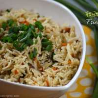 Veg Fried Rice | Vegetable Fried Rice Recipe