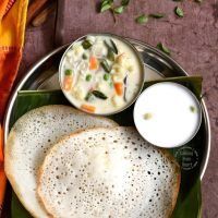 Appam | Easy Appam Recipe without Yeast