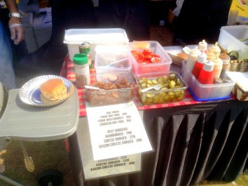 What I really liked was the customer was given the option to choose their burger toppings. So considerate!