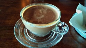 While the appearance of the Hot Chocolate was not particularly spectacular, the taste certainly was. Definitely in my list of Top Ten
