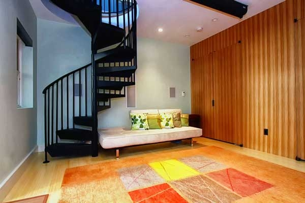 Page St Home Remodeling I San Francisco I Modern Craft | Spiral Staircase To Basement | Rustic | Do It Yourself Diy | Log Cabin | Hidden | Stairway