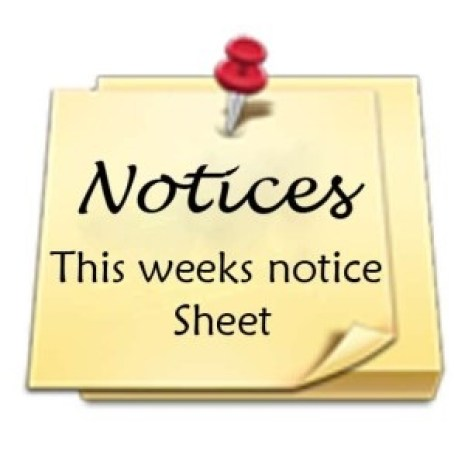 Notices and Upcoming events – Wylam Methodist Church
