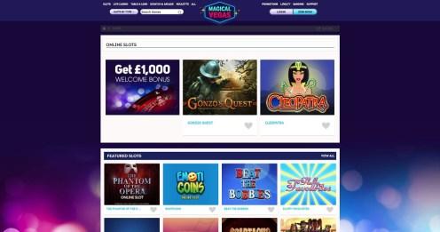 Online slots magical vegas