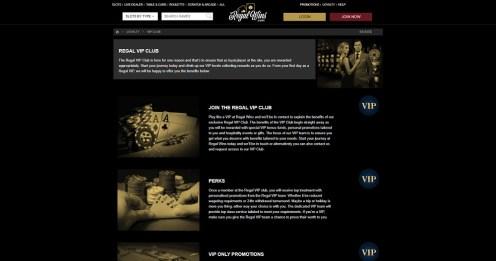 Regal Wins Casino VIP