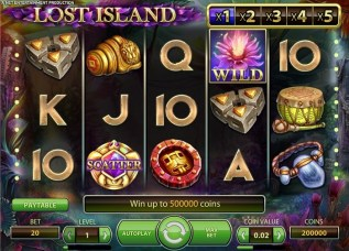 Lost Island slot game review