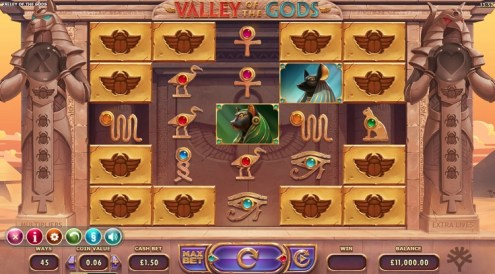 Valley of the Gods slot game review