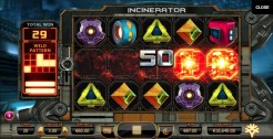 Incinerator slot review