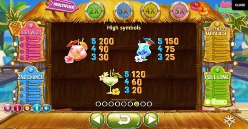 Spina Colada slot game