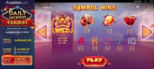 Lion Dance slot game