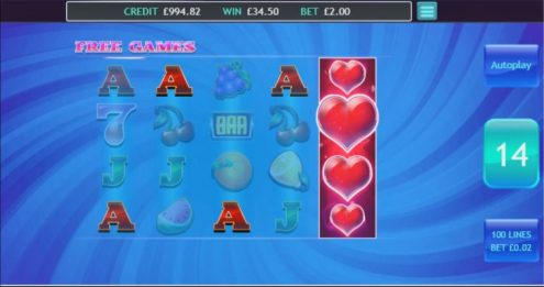 Heartburst - Free Spins Game